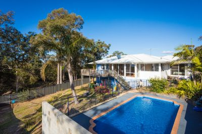 Large family home with privacy assured