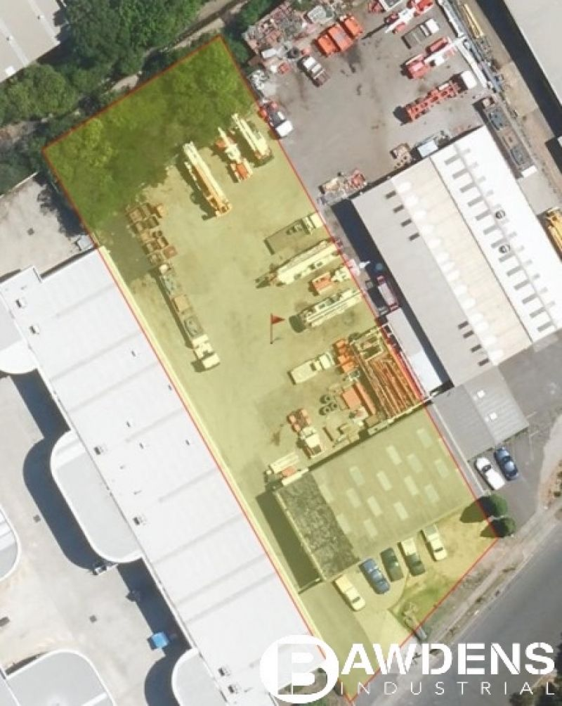 Warehouse - Office - Enormous Yard - Occupy or Redevelop.