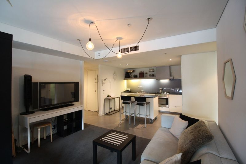 Furnished Apartment with Podium Level Views