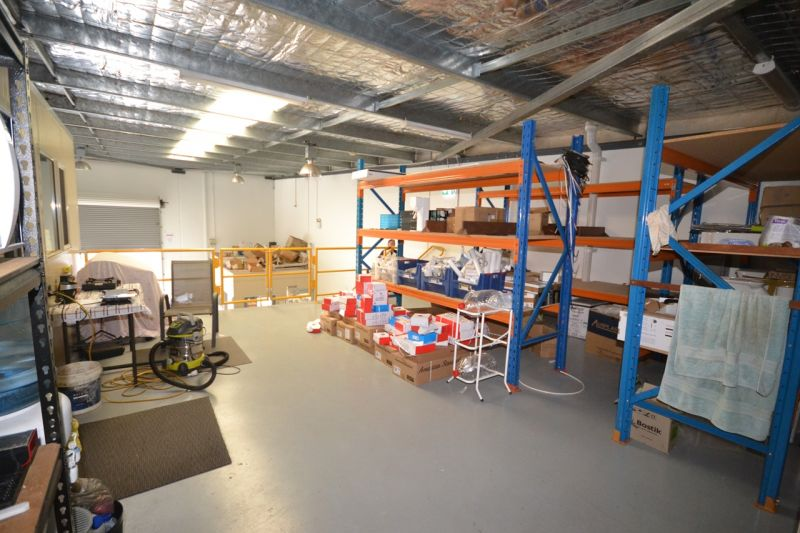NEW ASKING PRICE - MUST BE SOLD !!! - Modern Office Warehouse with Mezz &  Rear Yard