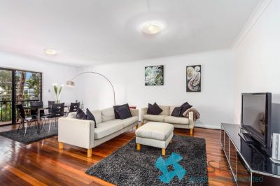 GOOD SIZE TWO BEDROOM RESIDENCE SITUATED ON A QUIET LEAFY STREET