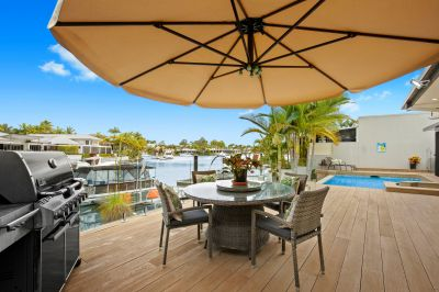Rare Single Level Waterfront in Australia's Premier Lifestyle Golf & Marine Resort. FIRB Exempt.