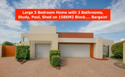 SENSATIONAL FAMILY HOME WITH NOTHING ON THE MARKET LIKE IT......