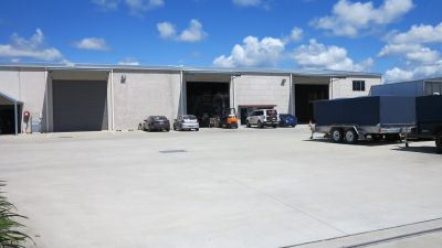 PRACTICAL WAREHOUSE WITH HARDSTAND | COOLUM BEACH
