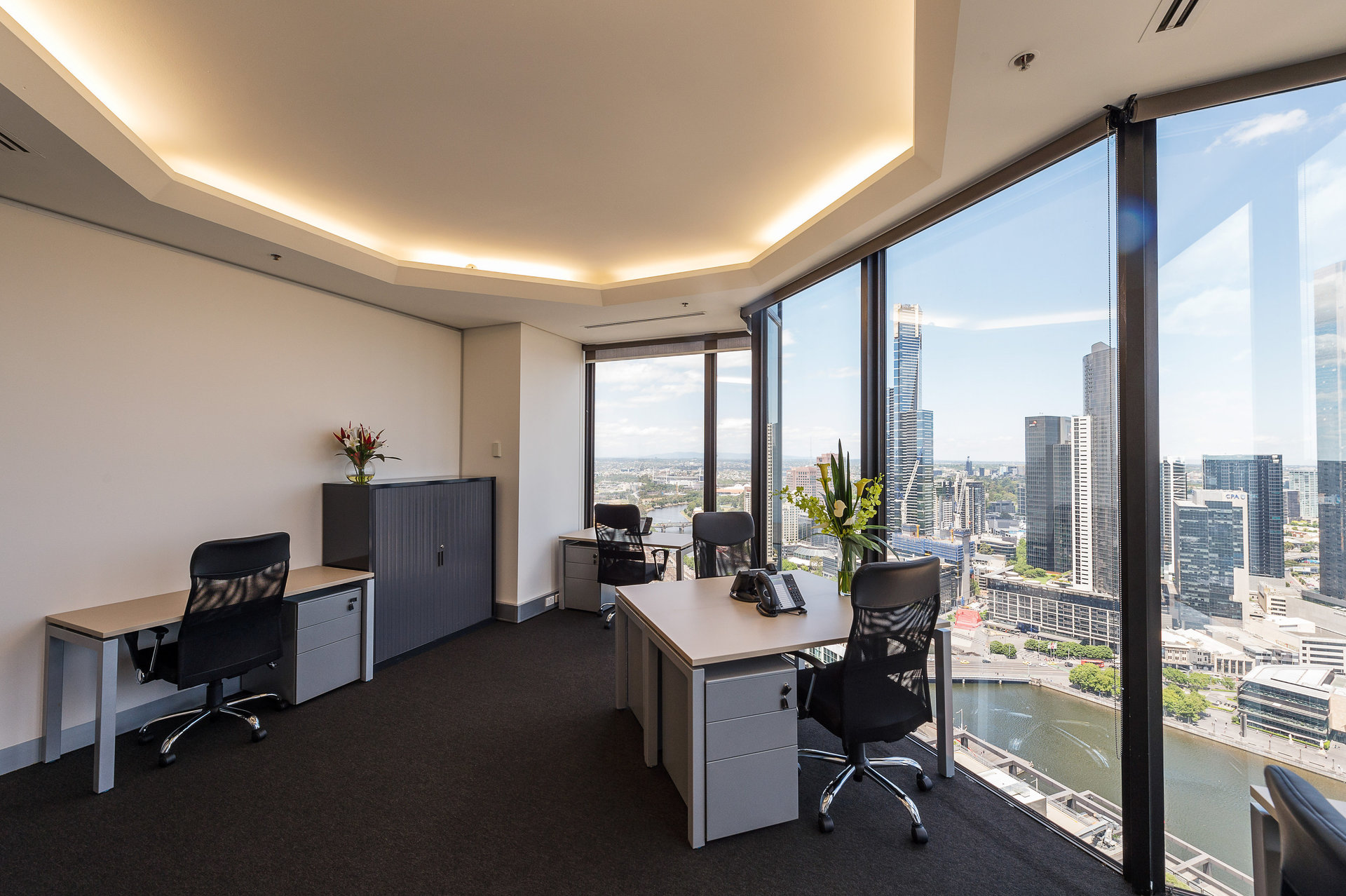14 Square Metre Office Space available at Rialto Tower, 525 Collins St – Prestigious Location – All Inclusive Cost
