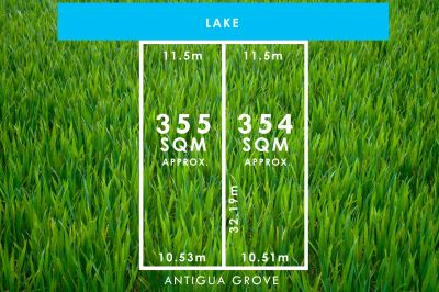 2 Blocks with Private Lake Frontage (1 Under Contract)