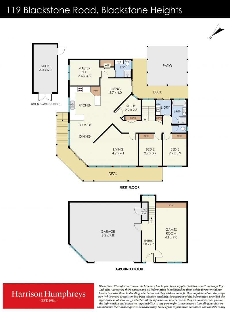 119 Blackstone Road Floorplan