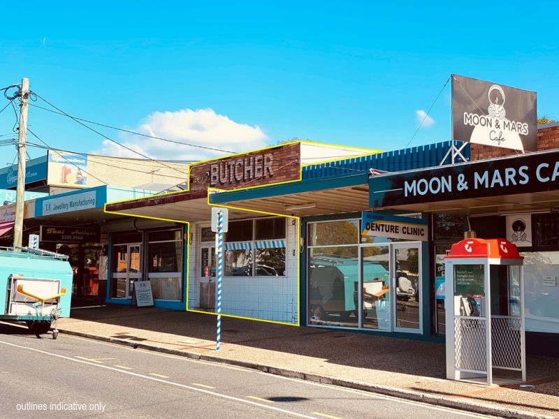 FREESTANDING BUILDING ON A 212SQM* SITE OFFERED TO THE MARKET FOR THE FIRST TIME IN 40+ YEARS