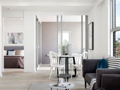 Boutique One Bedroom Plus Study Apartment