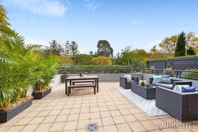 A Sun-Filled Garden Apartment in Abbotsford Cove