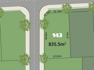 Glenmore Park Lot 143 Proposed  Road