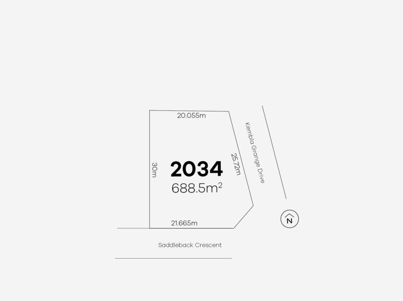 Kembla Grange 41 (Lot 2034)  Saddleback Crescent