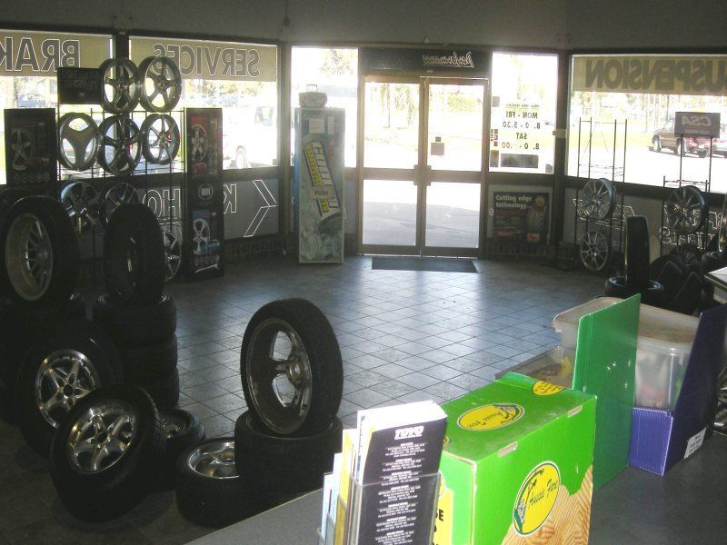 Showroom Office Warehouse With Maximum Exposure - City Tyres & Mags - All Plant & Equipment For Sale.
