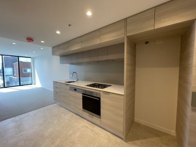 Premier podium level apartments in Mirvac's 'Voyager' building