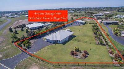 IMMACULATE 'LIKE NEW' HOME WITH HUGE SHED ON 1 ACRES OF PEACE & TRANQUILITY…
