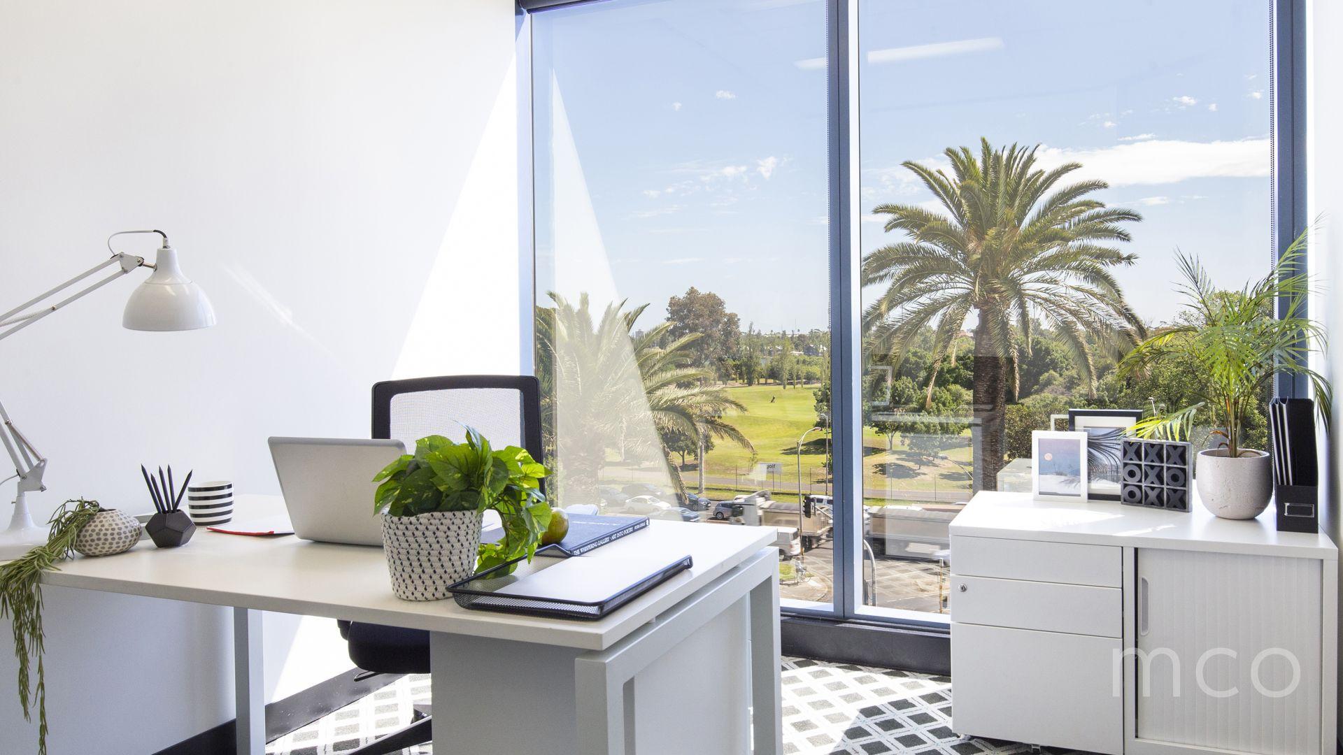 Premium office with impressive Albert Park views