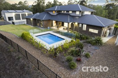 Hilltop Mansion on 2.5 Private Acres with the Ultimate Workshed