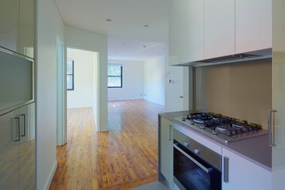 Fully renovated one bedroom apartment located on the ground floor in a well maintained security building.