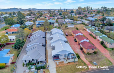 Sparkling NEW six-plex. Potential rental return of $2,100/week - all in-one-line. Best value multi-unit dwelling in Toowoomba.