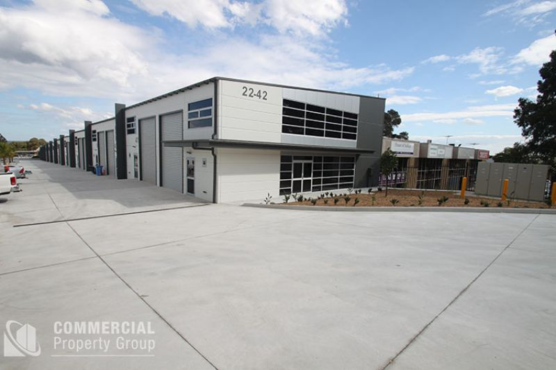 LEASED BY MITCHELL OWEN - HIGH CLEARANCE - HIGH DEMAND - 123m2 WAREHOUSE