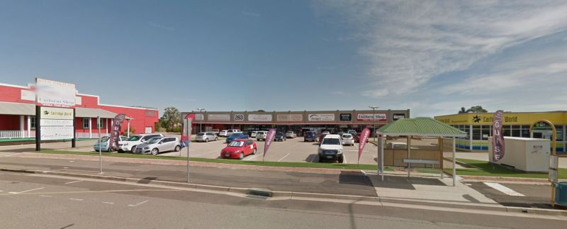 Prime retail tenancy on Charters Towers Road