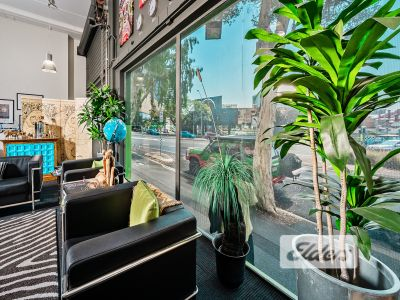 UNBELIEVABLE VALUE - CHARACTER OFFICE/SHOWROOM WITH HIGH CEILING!