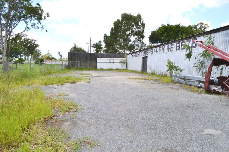 Fenced Hardstand Space Across From The New Pimpama City Shopping Centre