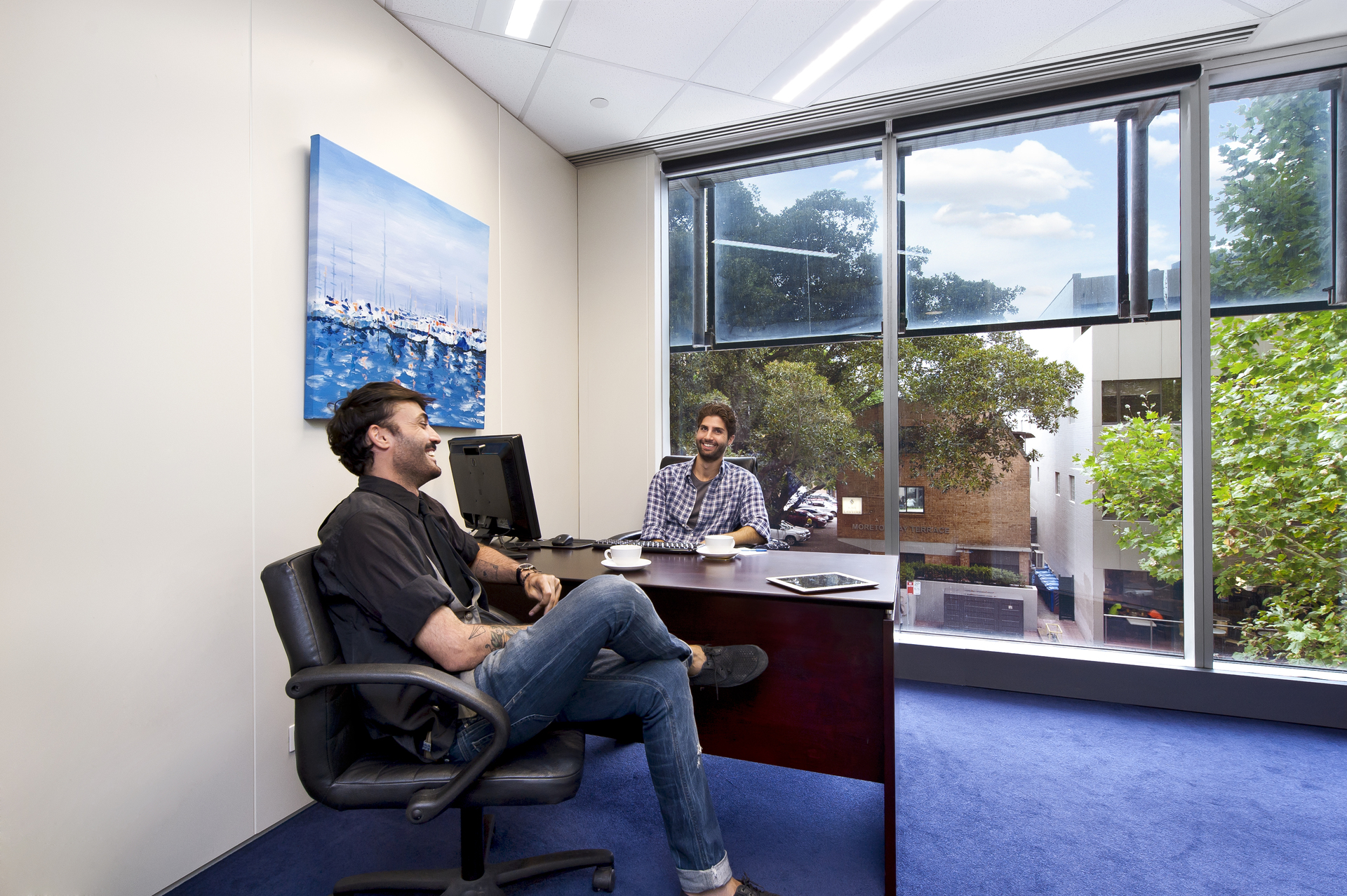 2 PERSON OFFICE IN PARRAMATTA WITH AMAZING VIEWS