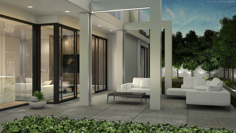 One Three Wilson: Lavish, Spacious, Single Level, and Light-filled Living in absolute Middle Brighton