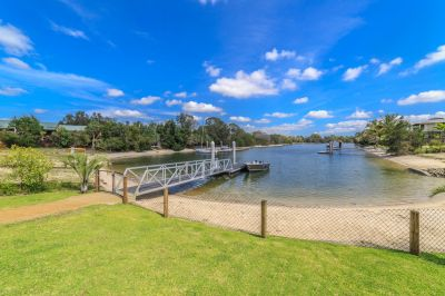 Brand New, North Facing Waterfront Home in Exclusive Island Community