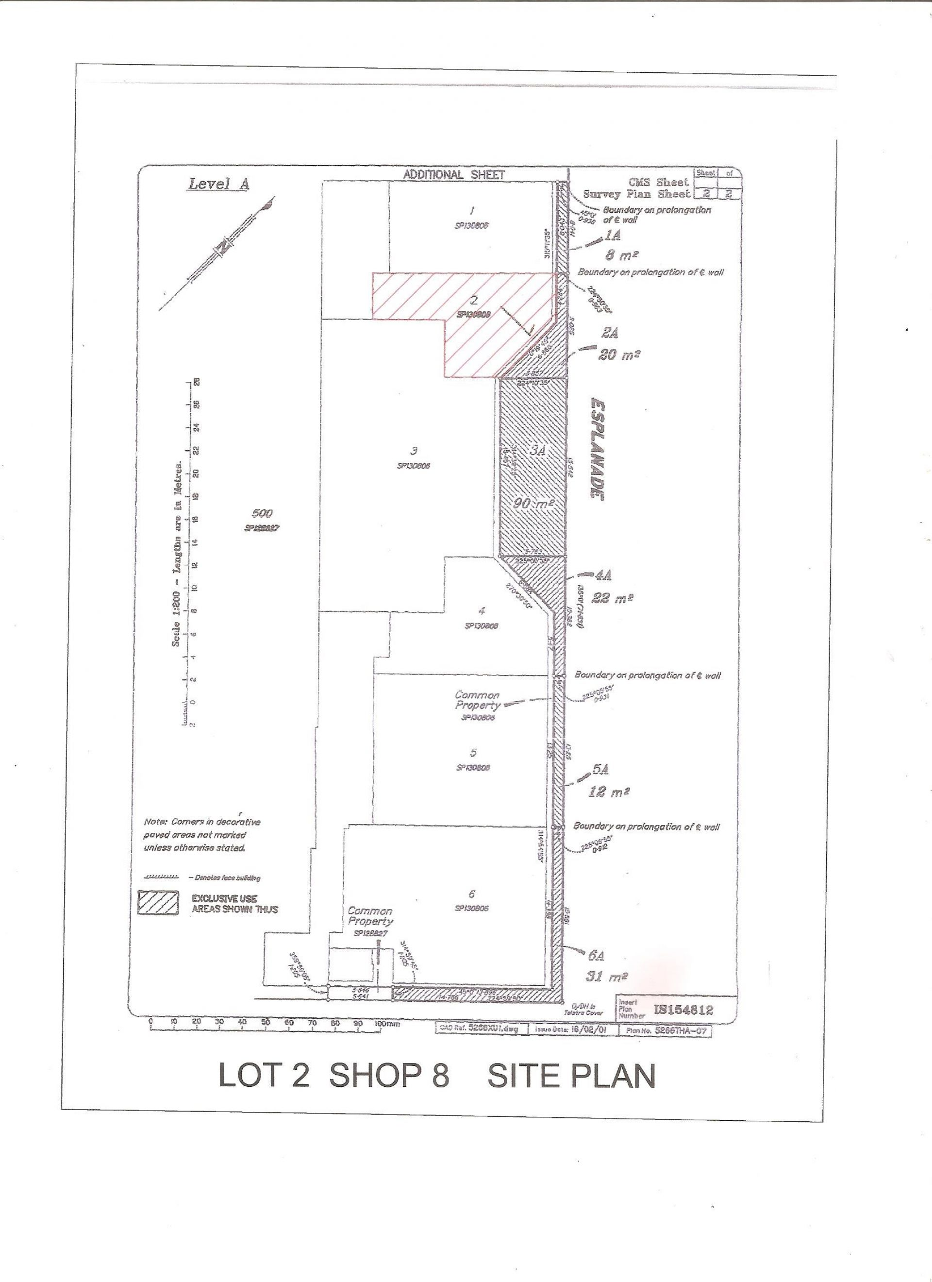PRIME ESPLANADE RETAIL SHOP AVAILABLE FOR LEASE