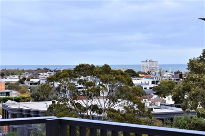 Brand New Two Storey Apartment with Stunning St Kilda Bay Views