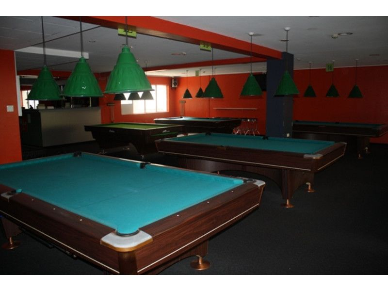 Fully Equipped Billiard Centre