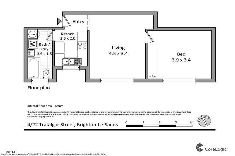 4/22 Trafalgar Street, Brighton-le-sands