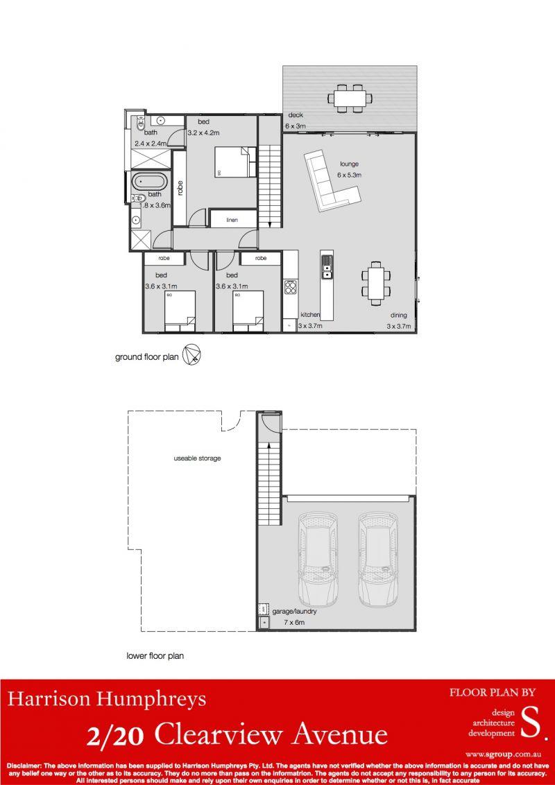 20 Clearview Avenue Floorplan