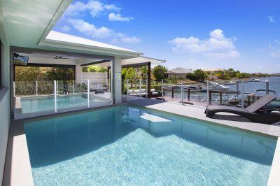Sensational Vistas from Modern Waterfront Home