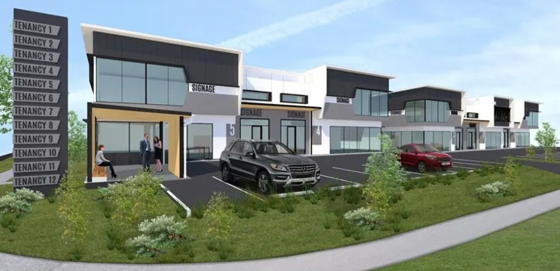 FOR SALE OR LEASE – BRAND NEW 354sqm Office/Warehouse