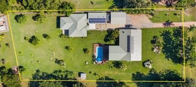 Rare as hens' teeth - 2 Separate Homes, sheds & 1 resort Pool - All on 5708m2 Block