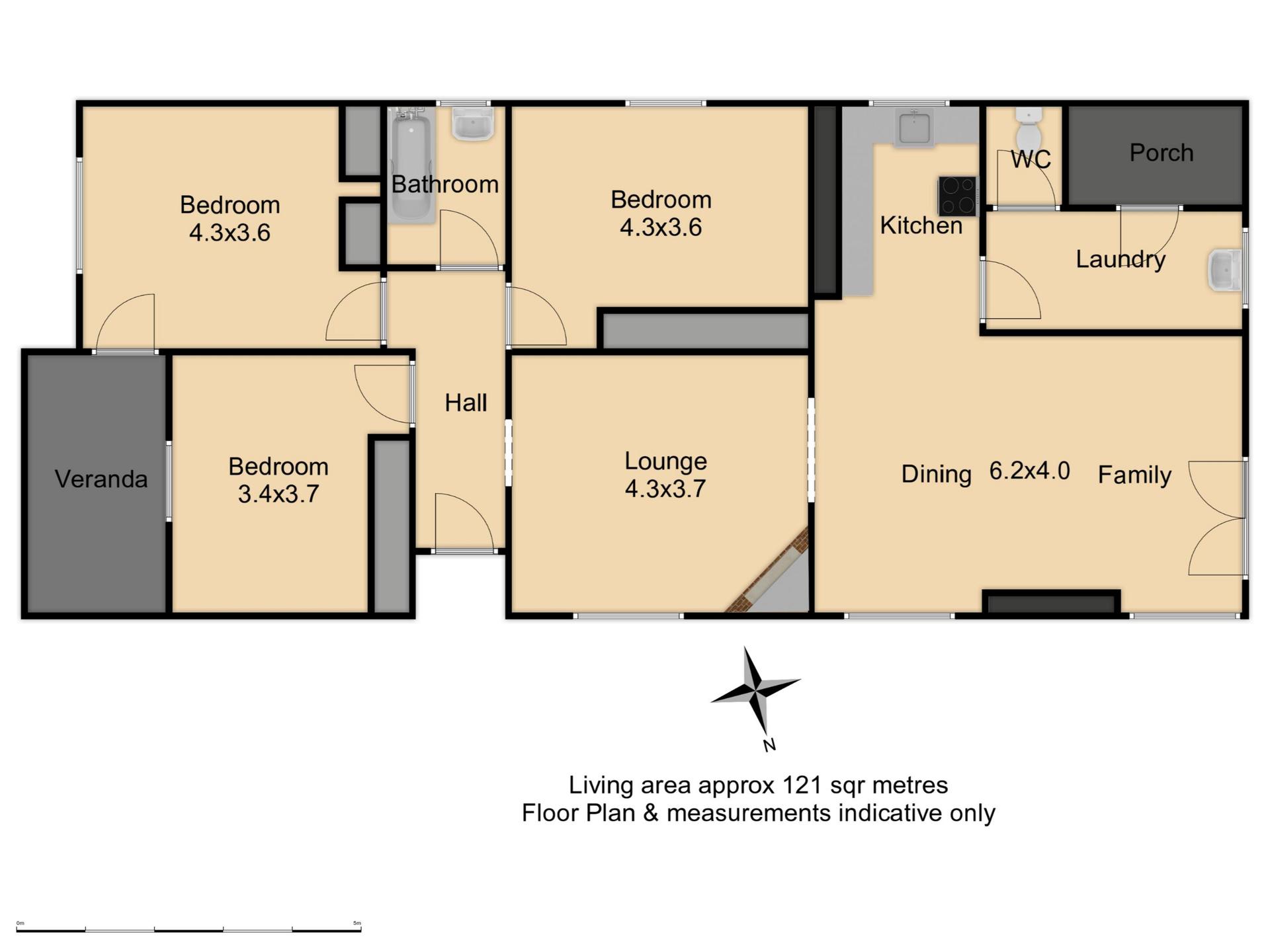85  Edward Street - Floor Plan