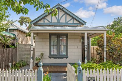 This Charming Block Fronted Victorian Oozes Character And Style Whilst Situated In Seddon's Premier Street.