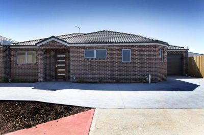 One year young with ease of access to main arterials, yet nestled in a quiet corner location