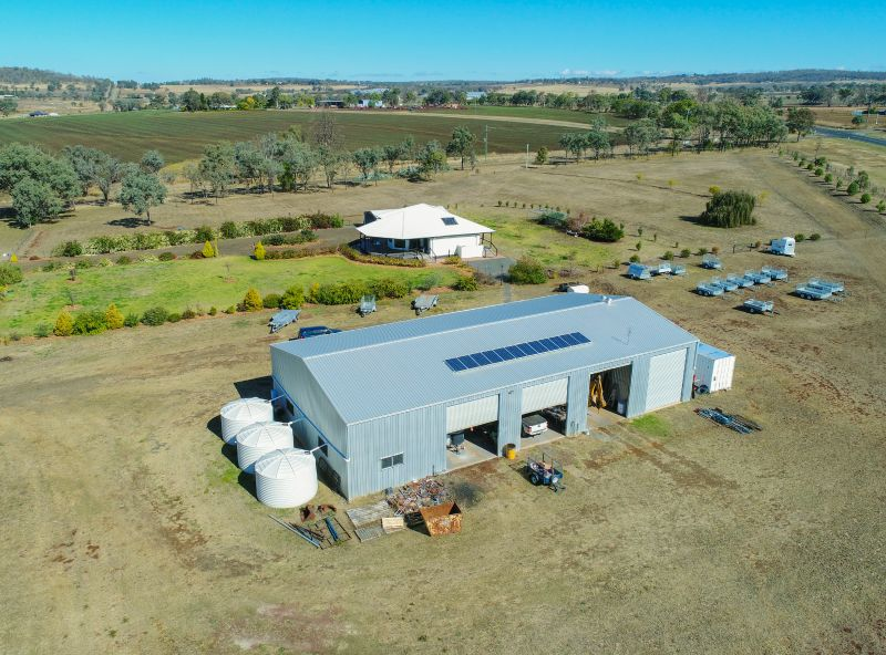 Exceptional Acreage Opportunity + Huge Industrial Shed