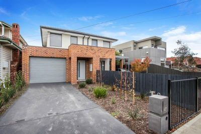 Natural light floods this beautiful expansive three-bedroom home, Yarraville Location