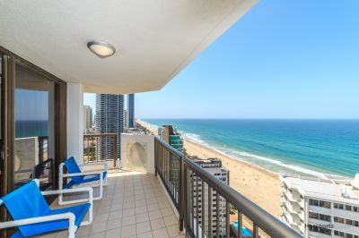 Beachside 2 bedroom, 24th Floor, Stunning Views