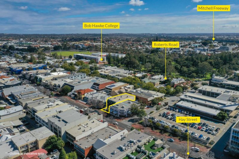 Subiaco Offices - Whole Building (all 8 strata lots) - For Sale or Lease