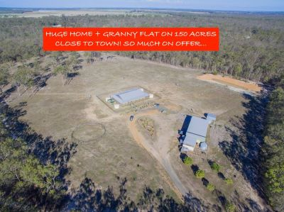 REMARKABLE PACKAGE WITH SO MUCH ON OFFER! 2 X DWELLINGS, 150 ACRES IN COMPLETE PRIVACY CLOSE TO TOWN.....