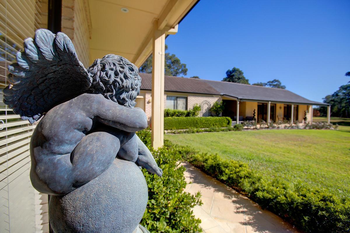 A beautiful family home on large acreage