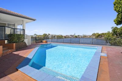 Unfurnished Waterfront Home with Pool and Garden Maintenance Included!!