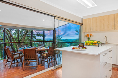 Step Inside And Discover- Panoramic sea view! Private pool! Lifestyle home with elevation! All under $1m... IN COOLUM!
