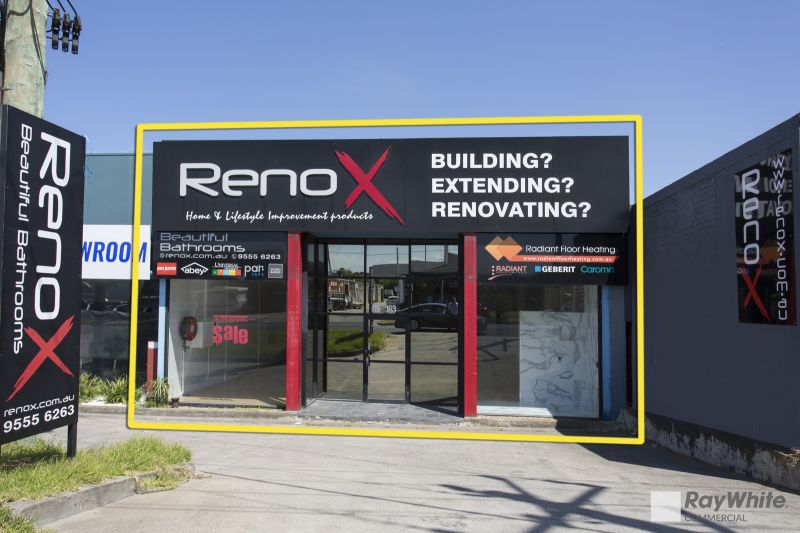 SHOWROOM / RETAIL / WAREHOUSE WITH STREET FRONTAGE